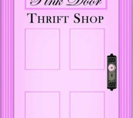 The Pink Door Thrift Shop!