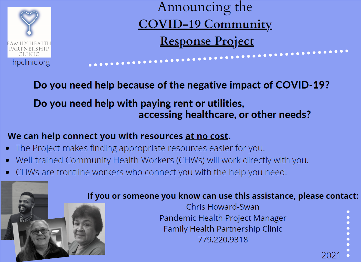 """Featured image for """"Announcing the COVID-19 Community Response Project – help at no cost."""""""